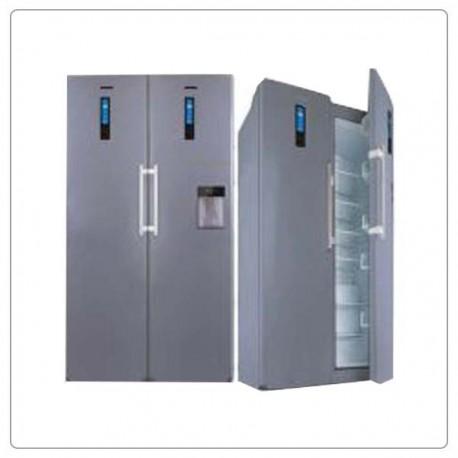 یخچال فریزر دو قلو الکترواستیل طرح 90 تیتانیوم  مدل ES24