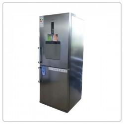 یخچال فریزر بالا و پایین الکترواستیل طرح تیتانیوم مدل ES35