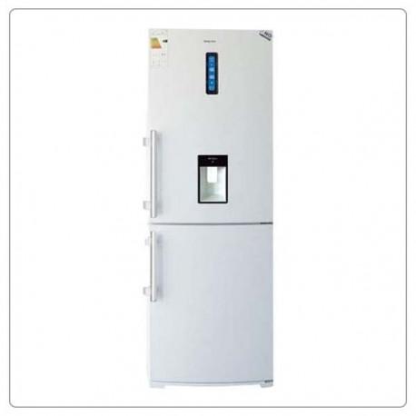 یخچال فریزر بالا و پایین الکترواستیل طرح چرمی مدل ES34