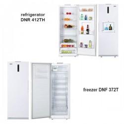 یخچال فریزر دوقلوی دونار/Donar  مدلDNR 412TH-DNF 372T/40