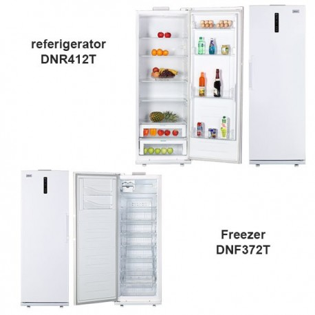 یخچال فریزر دوقلوی  دونار/Donar مدل DNR412T-DNF372T